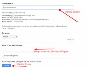 Add Custom Search bar to your Blog, custom Search engine for website/blog