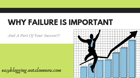 Why failure is important & a part of your success...