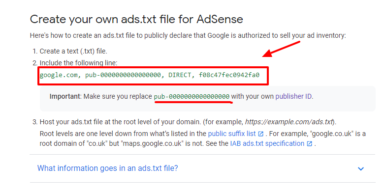 create ads.txt file [easy way]