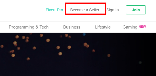Hw to start earning as a freelancer,create a seller account on fiverr,