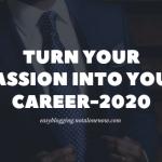 Pasion inta a career