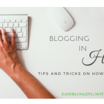 Learn Blogging In Hindi