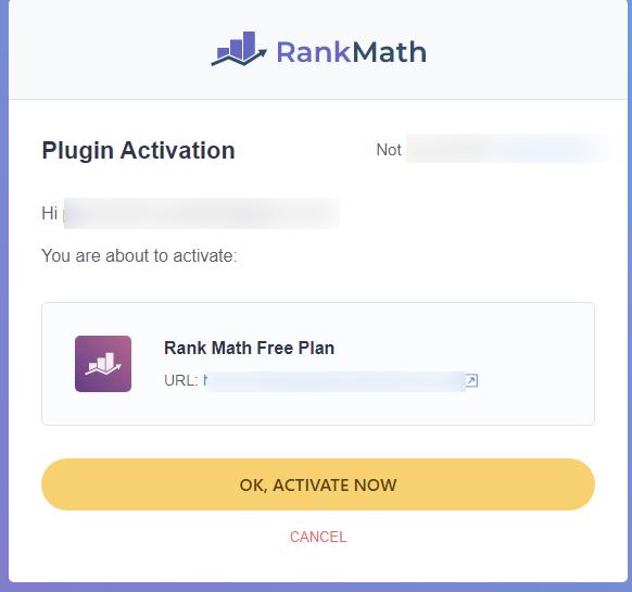 Rank Math Free Plan